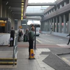 Gatwick airport morning
