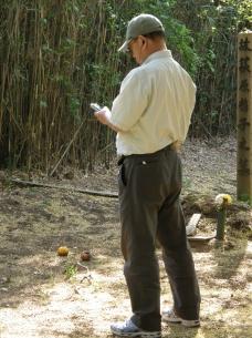 Hiramatsu recording in the haka