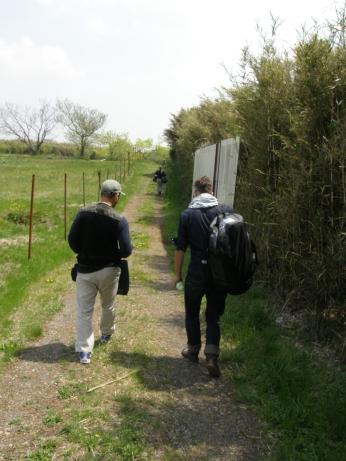 Hiramatsu and Angus near the haka
